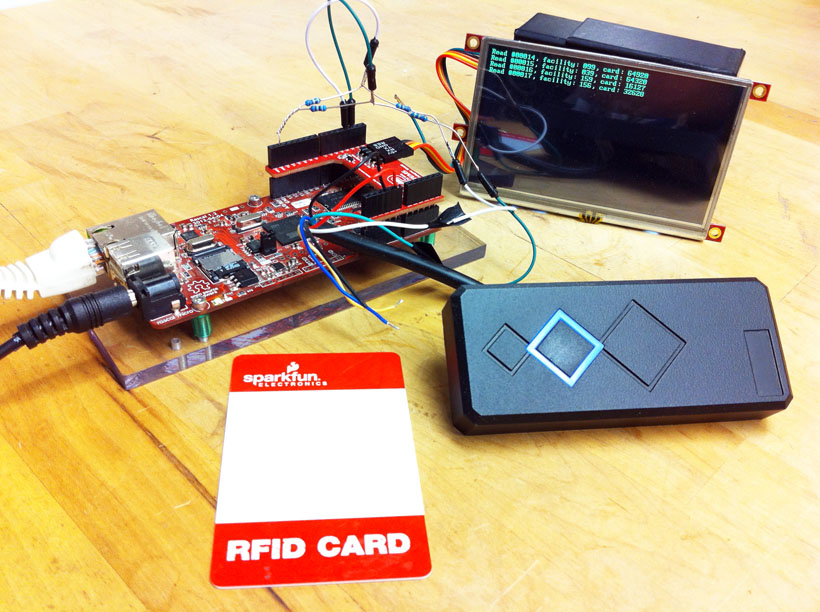 Reading 125 kHz RFID cards using Wiegand protocol in Python